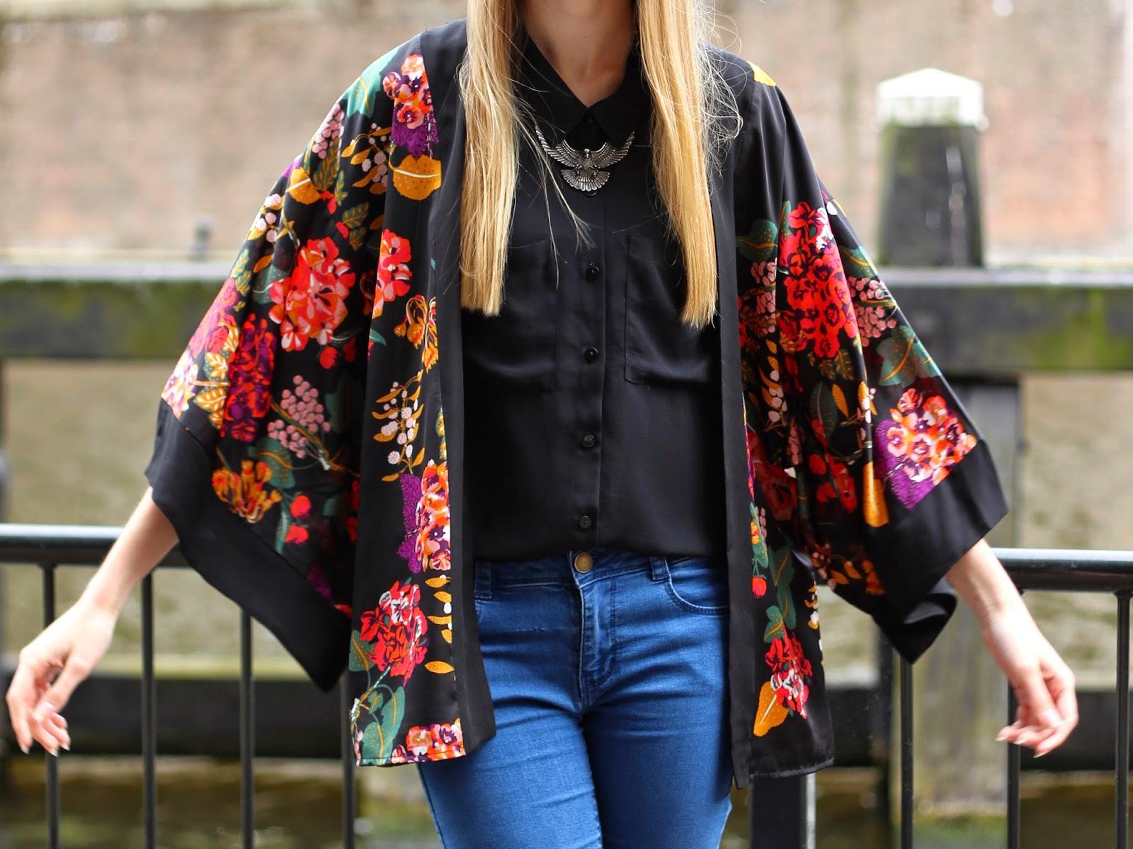 Outfit | Blouse & kimono