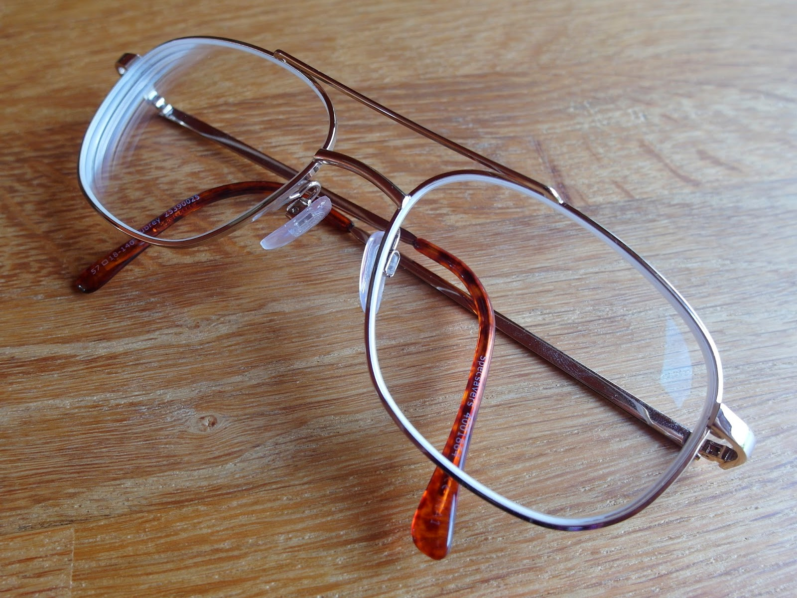 Retro bril van Specsavers met vintage look