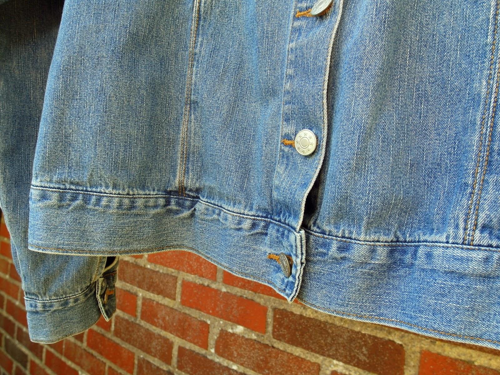 Tweedehands mode blog vintage spijkerjasje tweede hands kleding outfit inspiratie oversized spijkerjack
