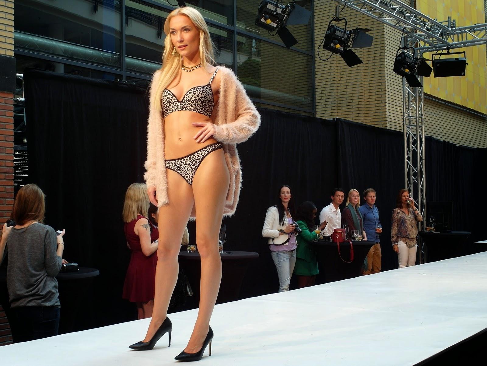 Modeshow Miss Etam Promiss nieuwe collectie 2014