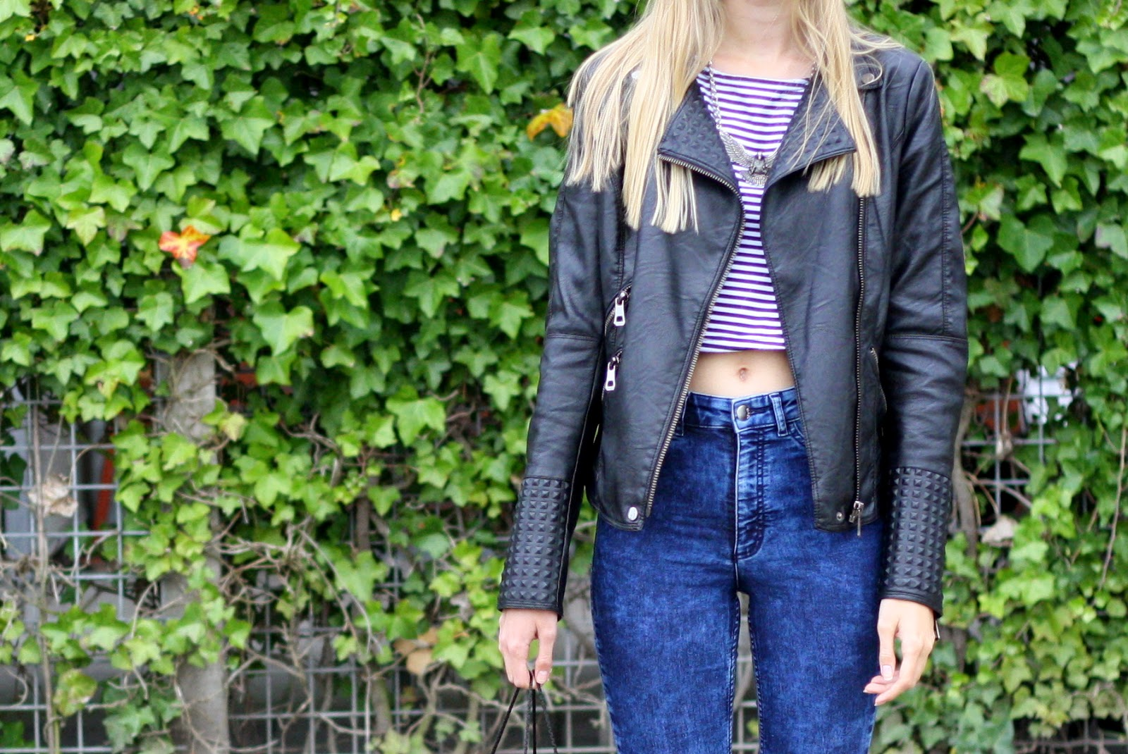 Outfit | High waisted jeans