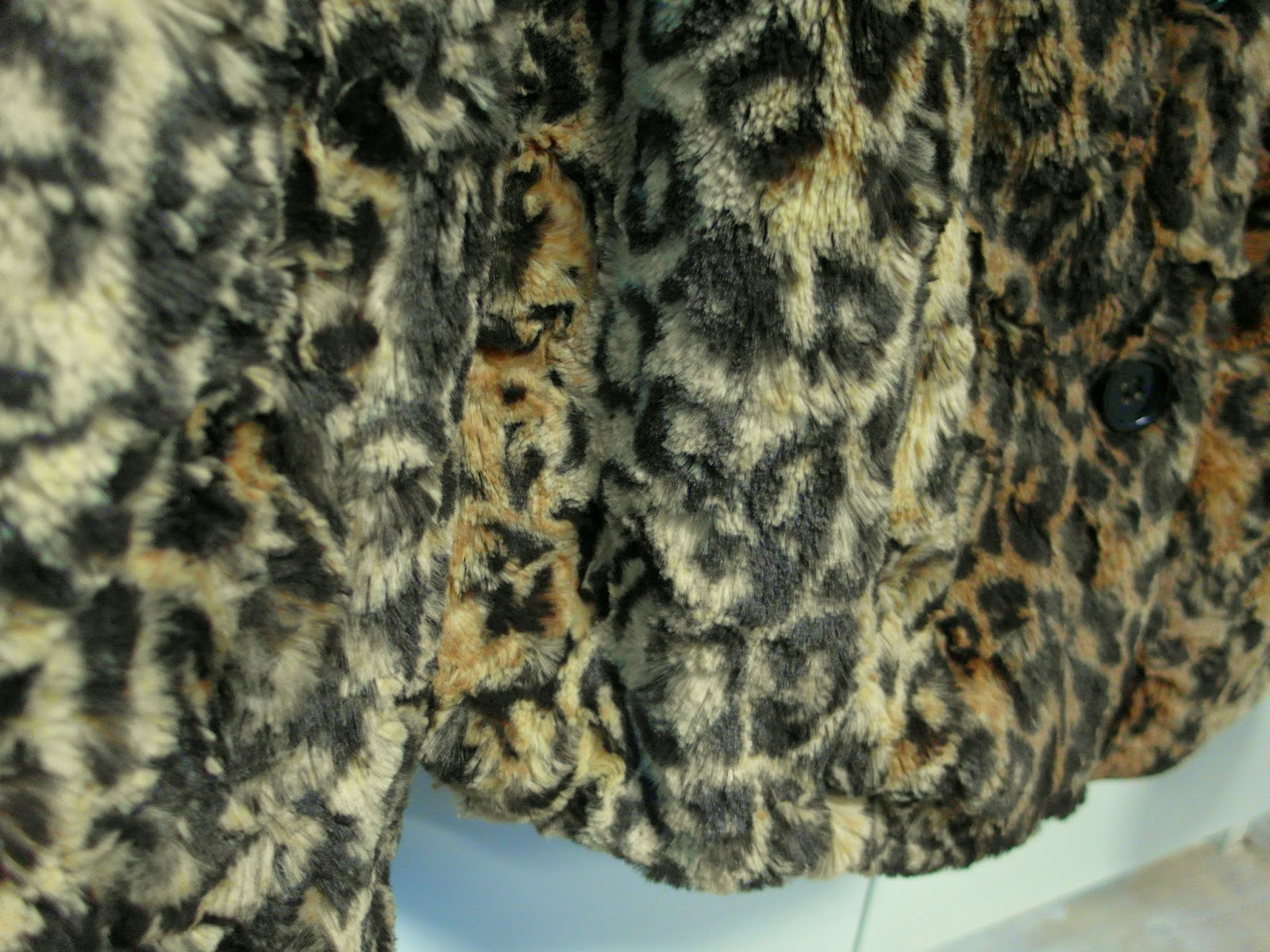 New in | Leopard fake fur