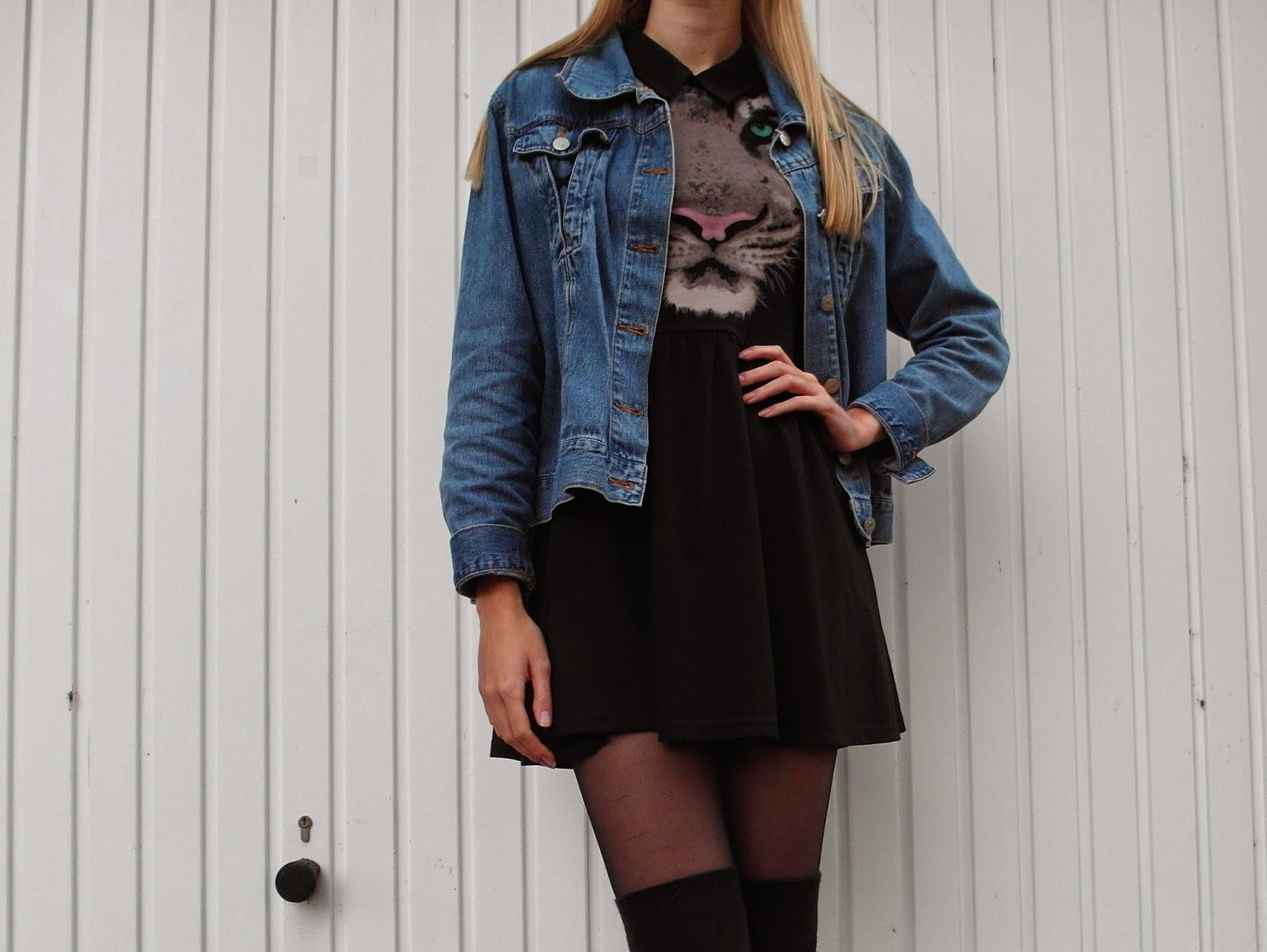 Outfit | Overknee socks