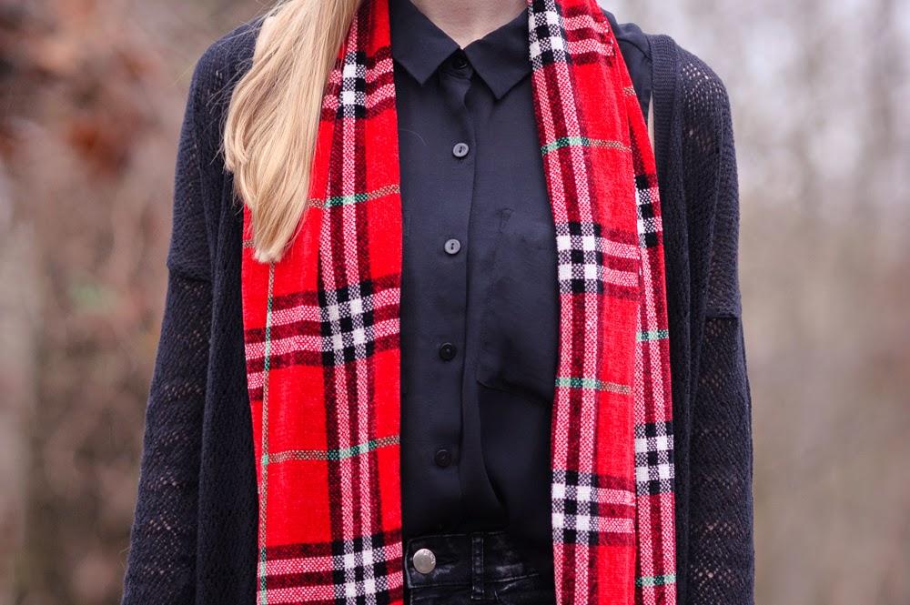 Outfit | Tartan love