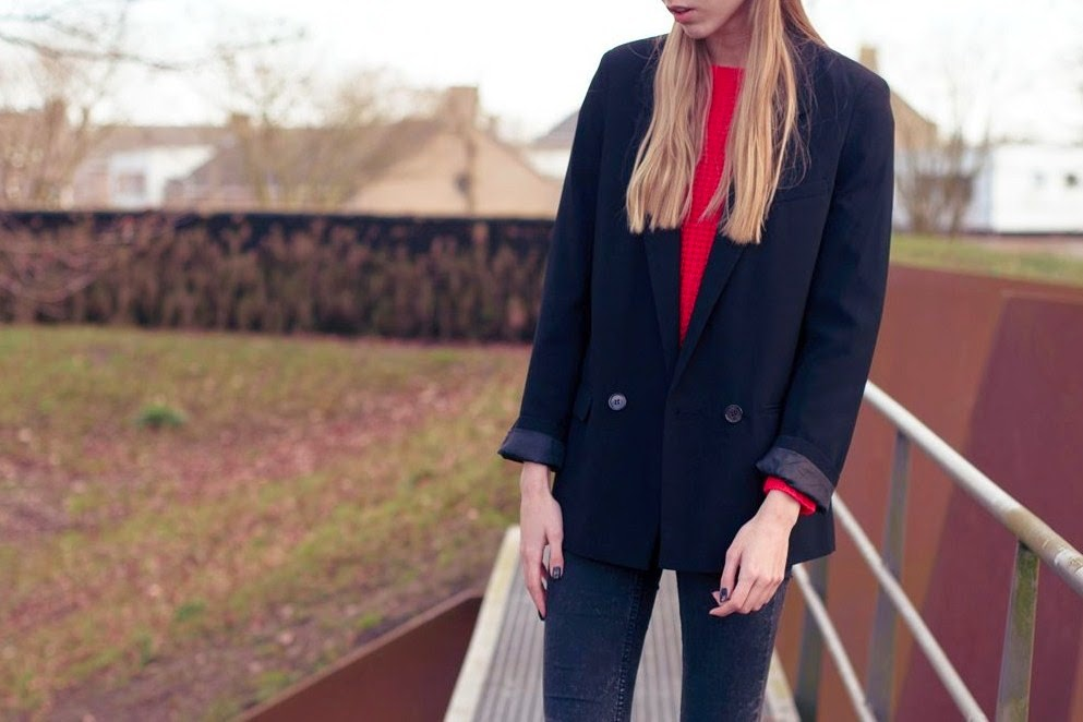 Outfit | Boyfriend blazer