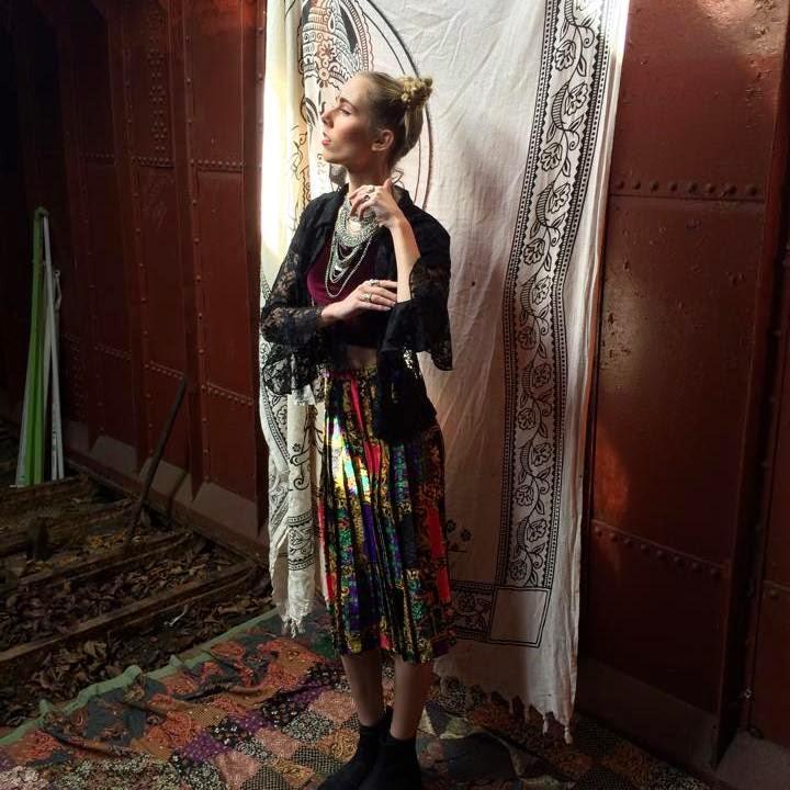Little bit Else vintage kleding bohemian shoot