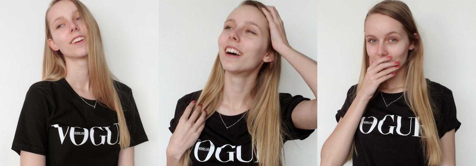 Zwart Vogue shirt nederland 2015
