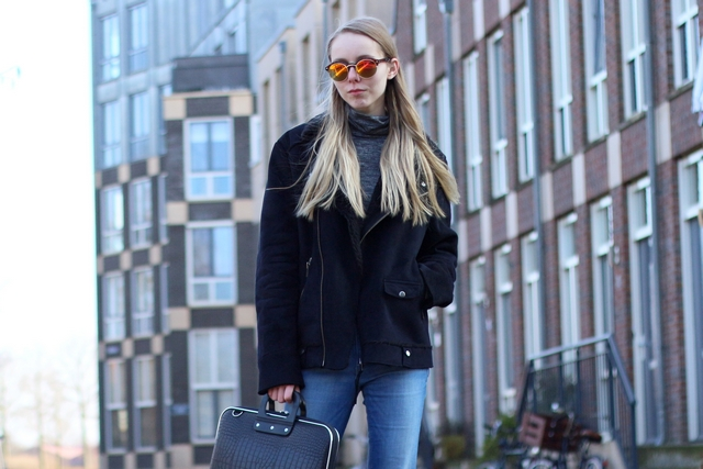 Outfit | Flared jeans