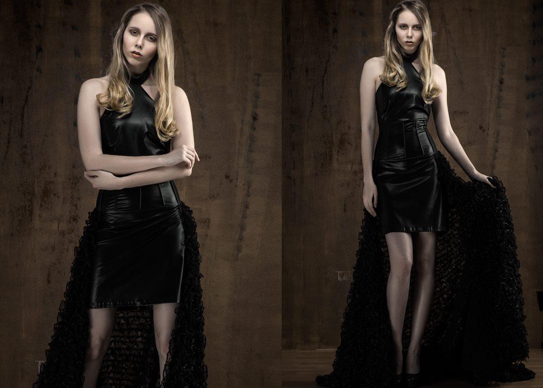 GdG foto Guido de Graaf photography Juliette van der Meulen visagie RC Couture jurk design Rianne Cornelissen model Joanne M avondjurken fotoshoot photostudio2b