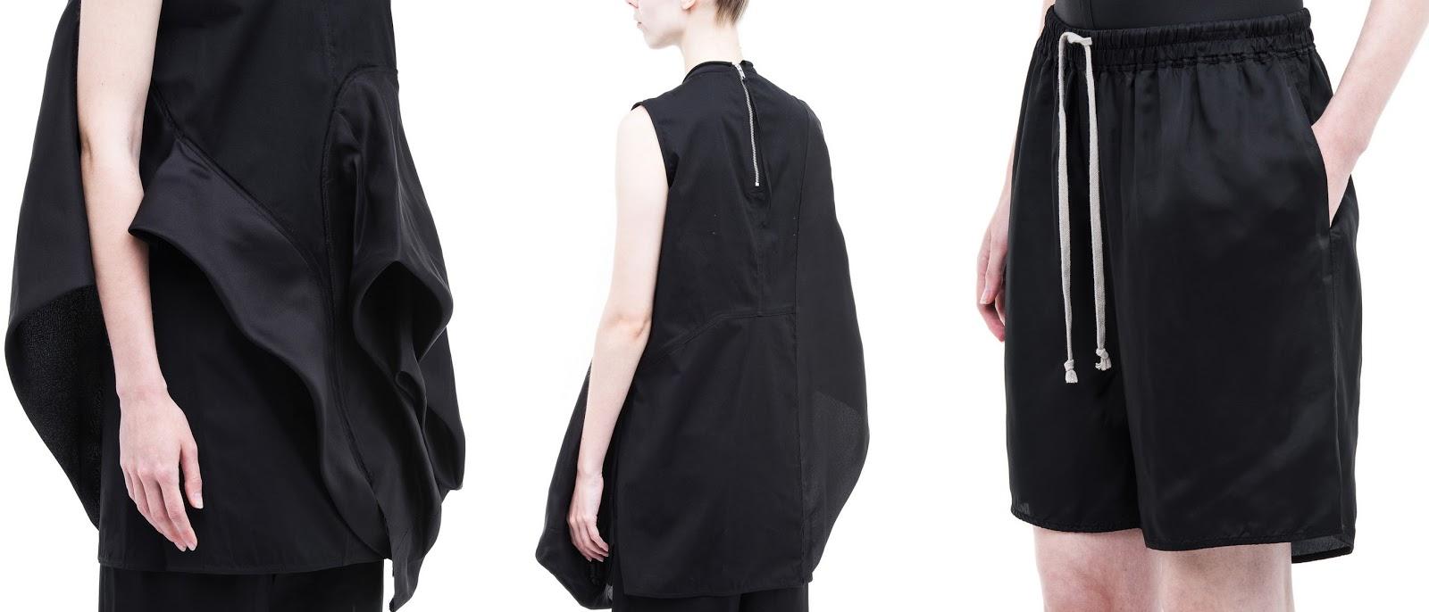 webshop fotografie kleding modellenwerk Milaan Rick Owens e-commerce