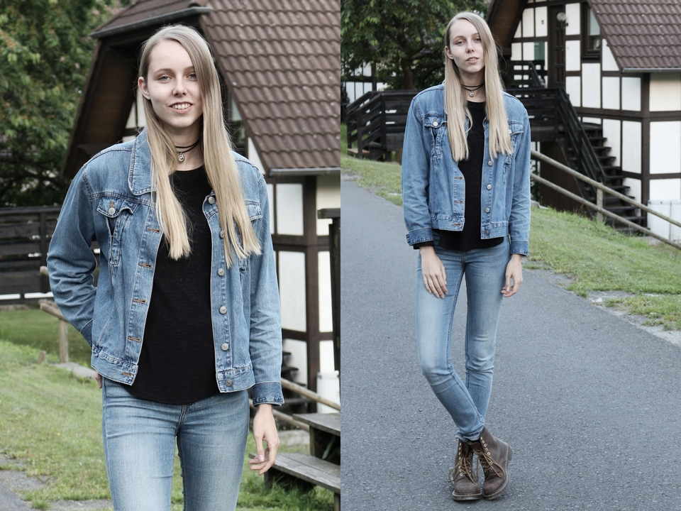 Outfit | Double denim