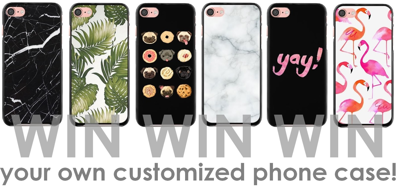 Giveaway   Customized phone case