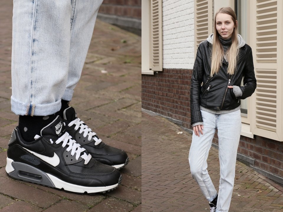 Outfit | Air Max and mom jeans