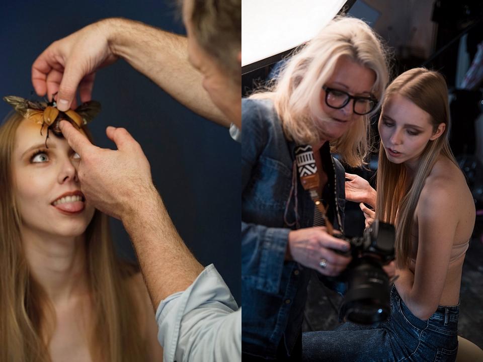 Fotografie workshop Kees Penders model Joanne M Yvonne Verburg fotografie Sofiia Nevezhina SonadorArt photography Suzanne Hendrikx visagie