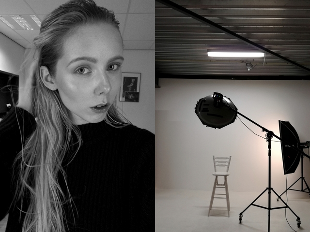 Gdg Foto Guido de Graaf photography model Joanne M Fieke Harmsen makeup natural fotoshoot backstage modellenwerk