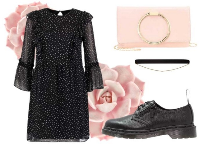 Want to wear | Polkadot ruffle dress