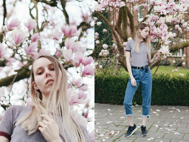 Outfit | Pink tulip tree