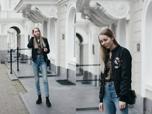 Outfit | Floral embroidery