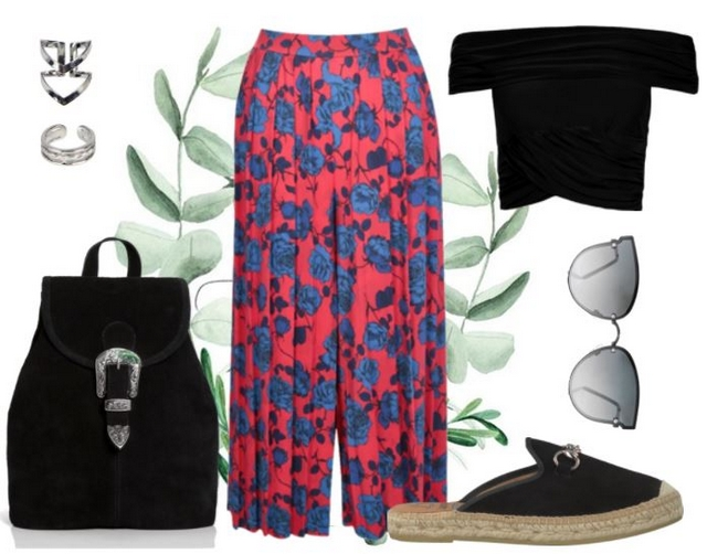 Want to wear | Floral culottes