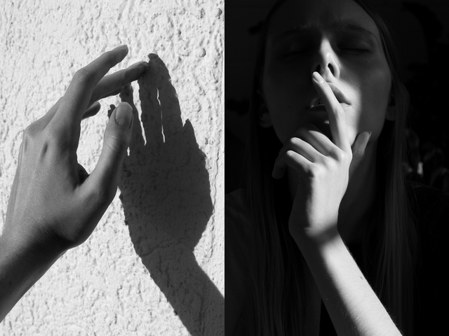Self portrait | Shadows & sunshine
