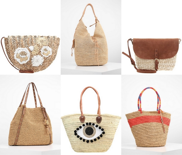 Shop tip | 6x straw bags