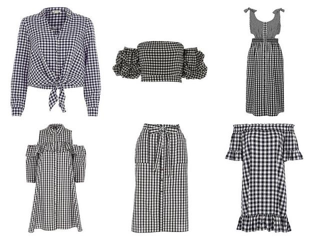 Shop tip | 6 x gingham kleding (retro ruitjes)