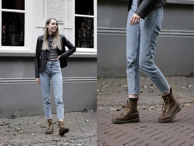 make people stare blogger outfit monki kimomo vintage mom jeans dr martens