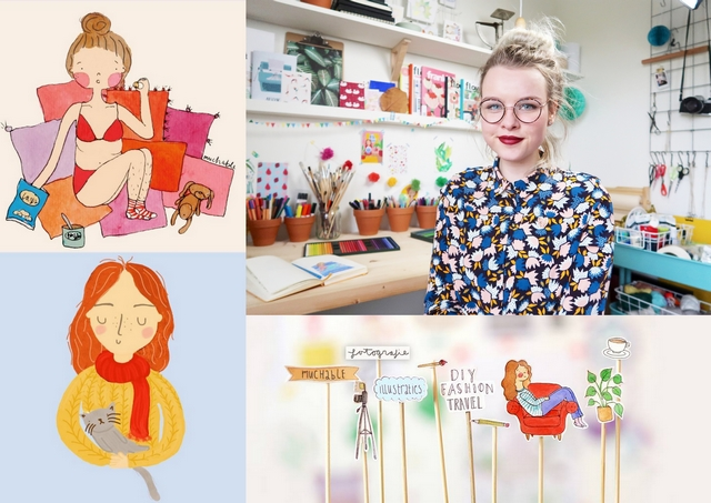Romy Muchable illustrator blogger girlboss Make people stare Muchables