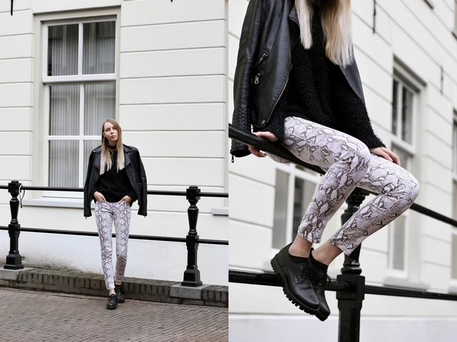 Outfit | Python pants