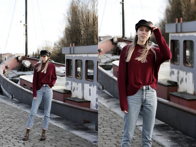 Outfit | The sailor hat
