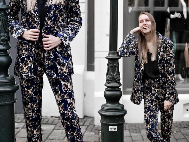 Zin Doesburg Jade Twelve pak tijger tiger suit Make people stare outfit blogger stijl