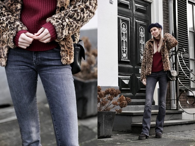 Reshare store Leger des Heils tweedehands kleding blogger outfit Make people stare SuperTrash ST.studio broek jeans
