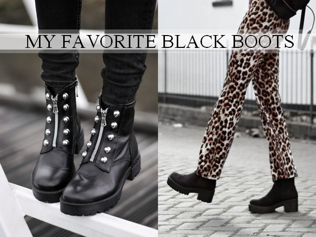 Favorites | Black boots