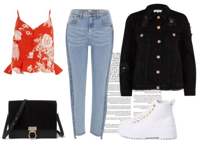 Want to wear | Edgy & floral