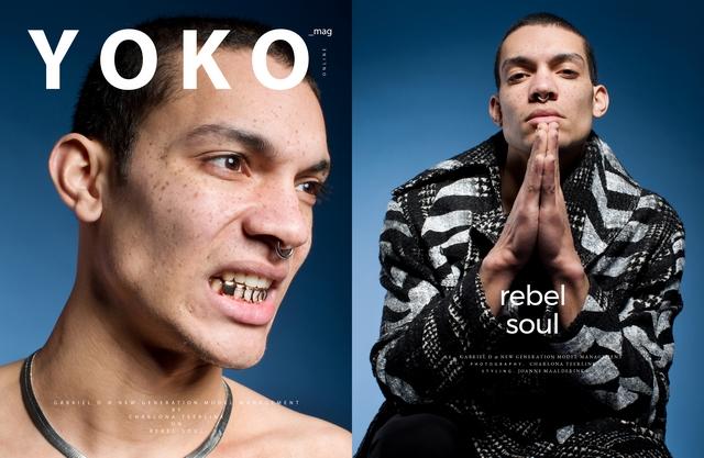 Joanne Maalderink styling rebel soul editorial Yoko magazine Charlona Teerlink fotografie Amarens Joustra Artez design
