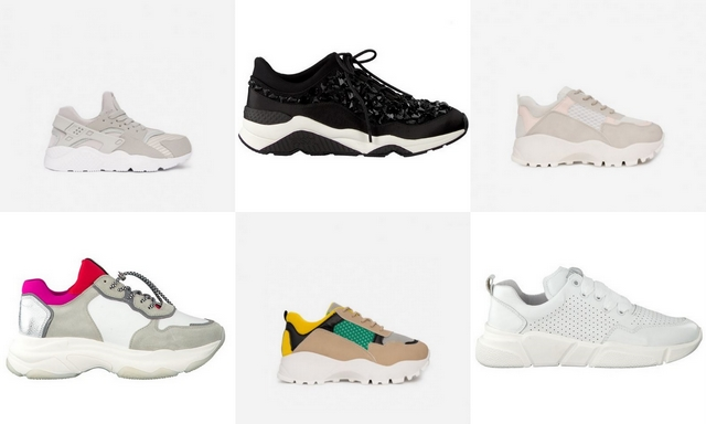 Shop tip | 6x chunky dad sneakers