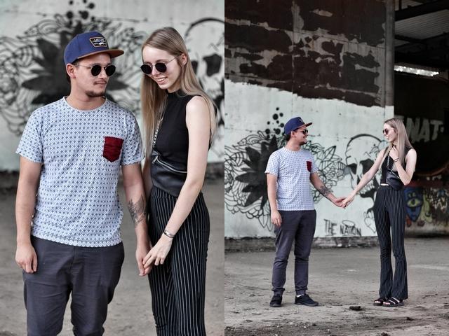 Outfit Matching sunglasses Polette dean zonnebril man vrouw mode blogger