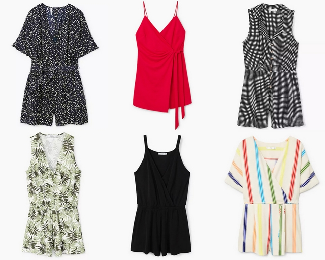 Shop tip zes zomerse playsuits Mango shopping outfit inspiratie mode blog