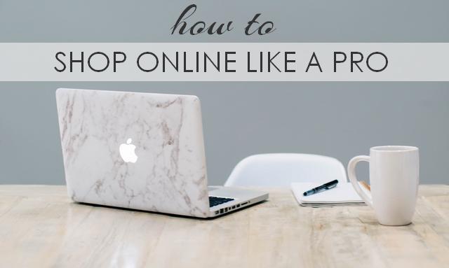 Handige tips voor het online shoppen how to shop like a pro kleding webshop tip mode blog