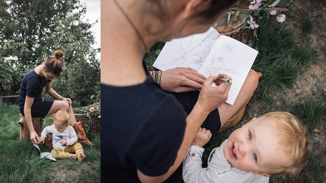 Girlboss interview met vrouwelijke ondernemer en illustrator Sterre Hendriks Studio Brun mindfulness app Wild Ventures