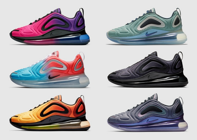 Nieuwe Nike Air Max 720 sneakers 2019 mode blog artikel