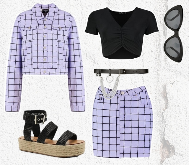 Want to wear | Lilac co-ord set