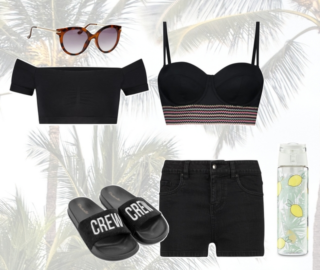 Want to wear | All black summer outfit