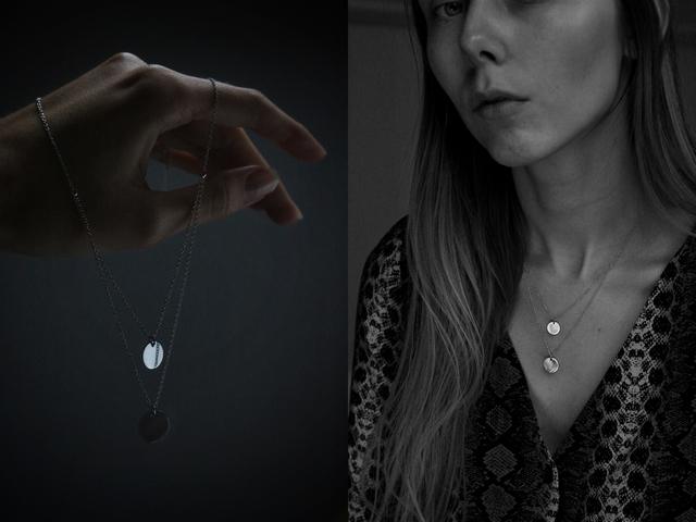 Zilveren ketting met muntjes van Selected Jewels Lynn Lieke layered necklace 925 sterling zilver verkrijgbaar bij Brandfield mode blogger