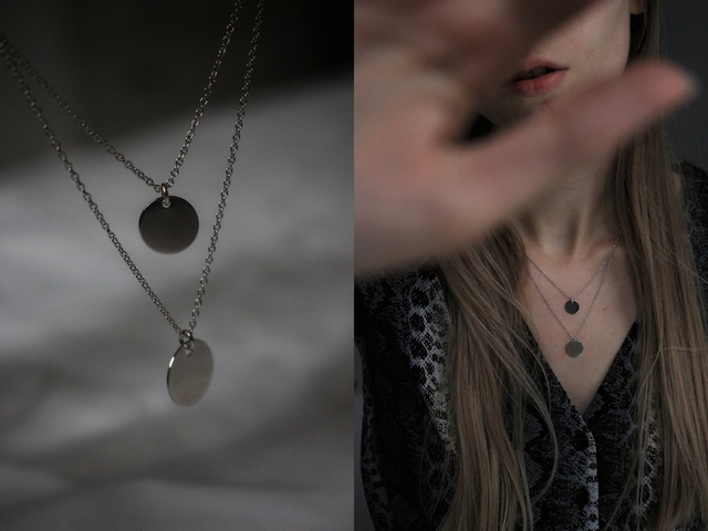 New in | Layered coin necklace