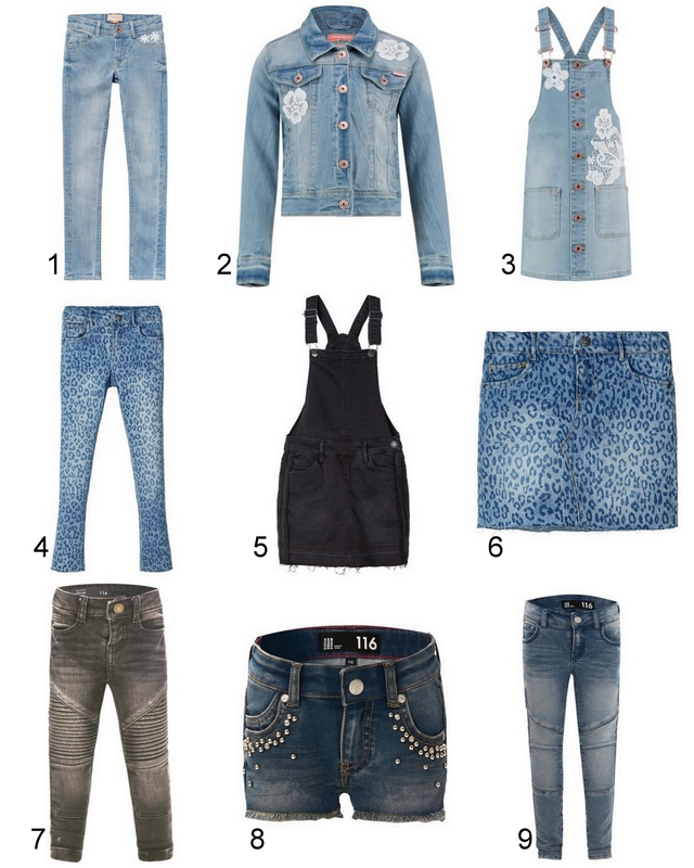 Shop tip | 9x de leukste denim items voor kids