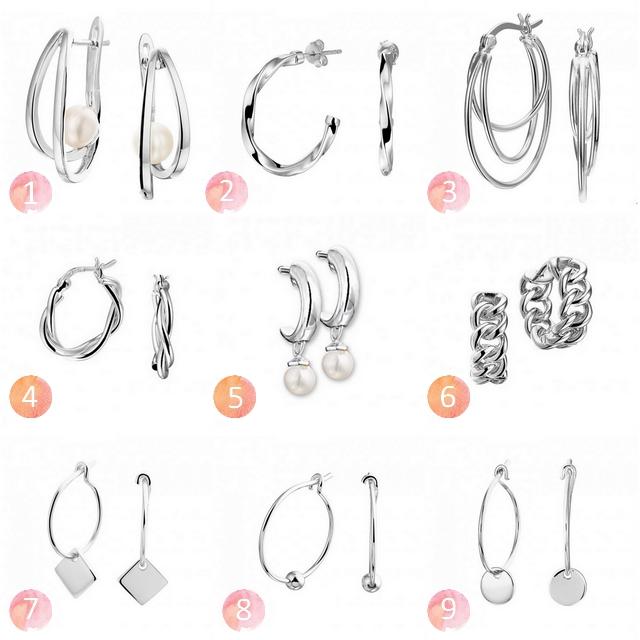 Shop tip mooie zilveren oorringen van Mostert Juweliers inspiratie sieraden blog oorbellen zilver minimalistisch trendy chic mode blogger make people stare