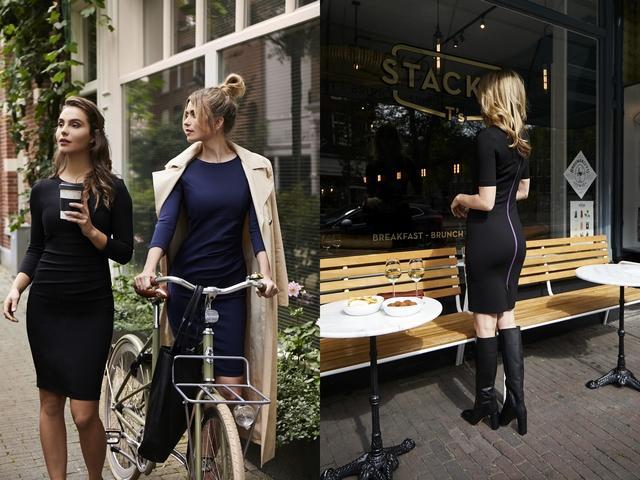 Girlboss interview met vrouwelijke ondernemer Robine de Louw-Rademakers van modelabel Rouxbien casual business jurken van accountant naar modeontwerper jurkenlijn kledingmerk opzetten succes verhaal blog
