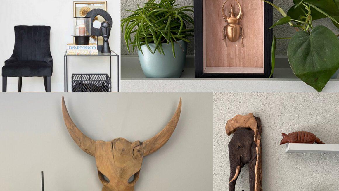 Interior | Robuuste muurdecoratie van hout