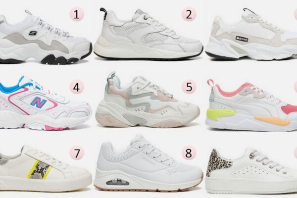 Shop tip | 9x comfortabele witte sneakers